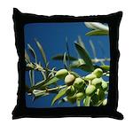 California Olives as Art Throw Pillows