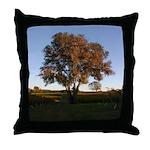 The Same Tree Grows Up, Vineyard Throw Pillow