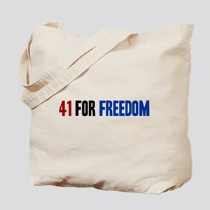 41 for Freedom Tote Bag