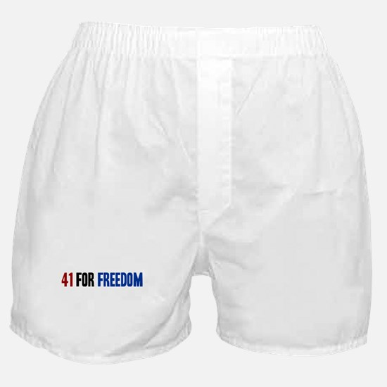 41 for Freedom Boxer Shorts