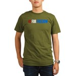 41 for Freedom Organic Men's T-Shirt (dark)