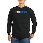 41 for Freedom Long Sleeve Dark T-Shirt