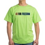 41 for Freedom Green T-Shirt