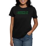 Hopped Up for Beer Women's Dark T-Shirt