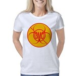 No GMO Bio-hazard Warning  Women's Classic T-Shirt