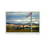 Rainstorm over Vineyards, Napa Valley. 10 Magnets