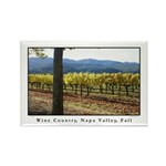 Napa Valley Wine Country, Fall Photography Magnet