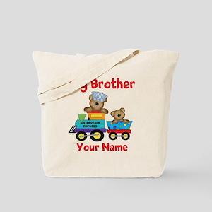 Big Brother Train Tote Bag