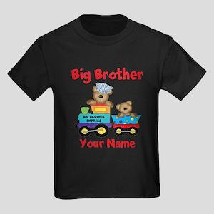 Big Brother Train Kids Dark T-Shirt