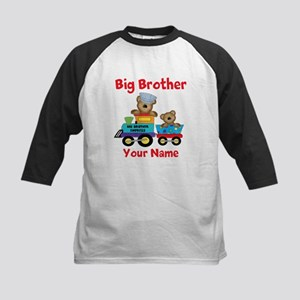 Big Brother Train Kids Baseball Jersey