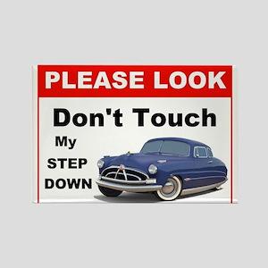 Hudson Car Do Not Touch Sign Magnet