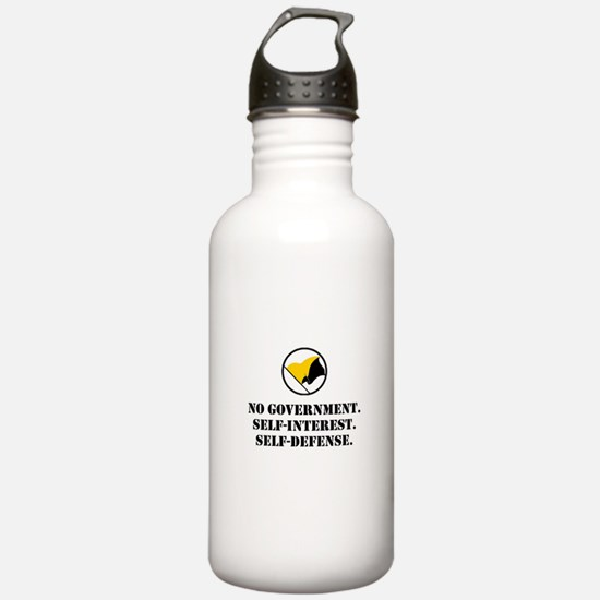 No Government Water Bottle
