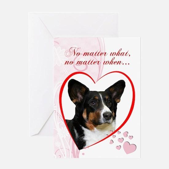 Corgi Valentine's Card