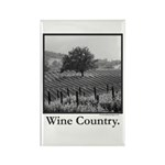 Wine Country Rectangle Magnet (100 pack)