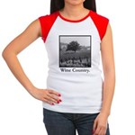 Wine Country Women's Cap Sleeve T-Shirt