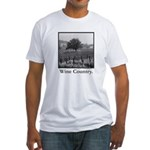 Wine Country Fitted T-Shirt