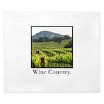 Wine Country Vineyard Gifts King Duvet