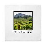 Wine Country Vineyard Gifts Queen Duvet