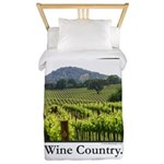 Wine Country Vineyard Gifts Twin Duvet