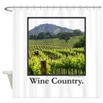 Wine Country Vineyard Gifts Shower Curtain