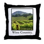 Wine Country Vineyard Gifts Throw Pillow