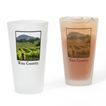 Wine Country Vineyard Gifts Drinking Glass