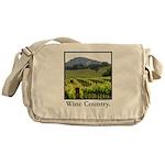 Wine Country Vineyard Gifts Messenger Bag