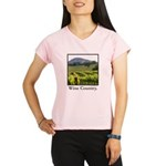 Wine Country Vineyard Gifts Performance Dry T-Shir