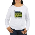 Wine Country Vineyard Gifts Women's Long Sleeve T-