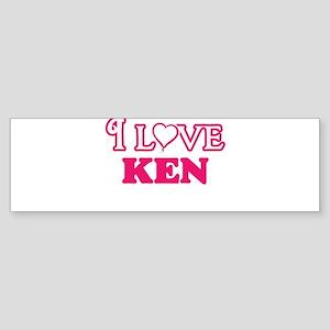 I Love Ken Bumper Sticker