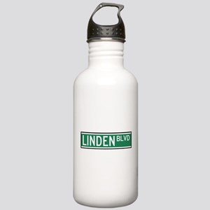 Linden Boulevard Sign Stainless Water Bottle 1.0L