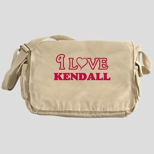 I Love Kendall Messenger Bag