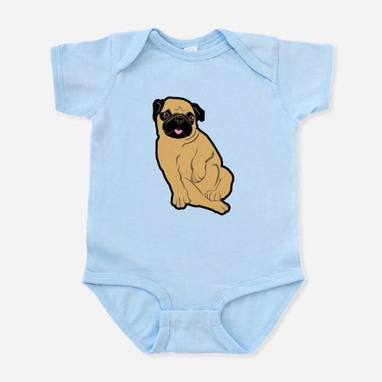 Sweetie Pug Infant Bodysuit