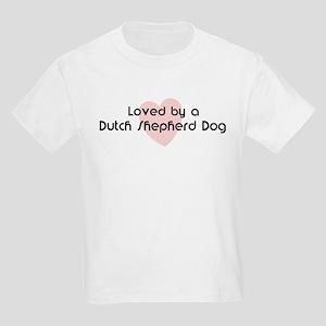 Loved by a Dutch Shepherd Dog Kids T-Shirt