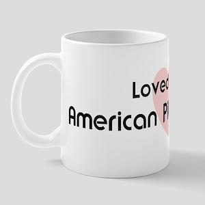 Loved by an American Pit Bull Mug