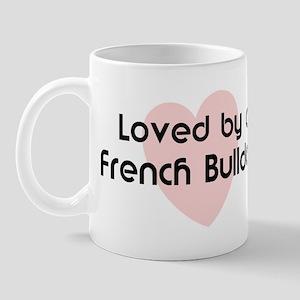 Loved by a French Bulldog Mug