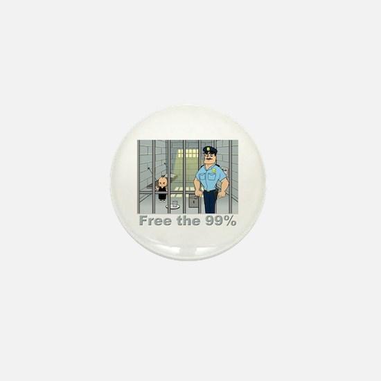 Free the 99% Mini Button
