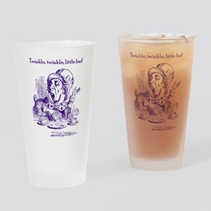 Mad Hatter's Batty Drinking Glass