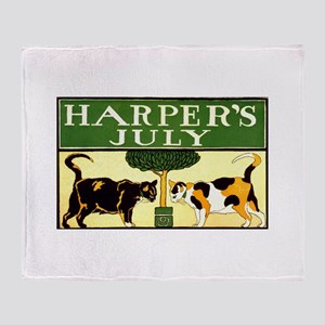 Harper's July Throw Blanket