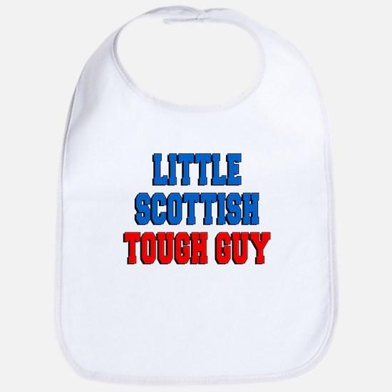 Little Scottish Tough Guy Bib