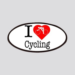 I Love Cycling Patches