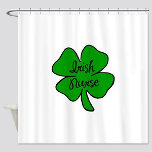 Irish Nurse Shower Curtain