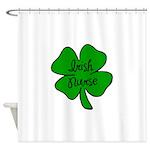 Irish Nurse Shower Curtain