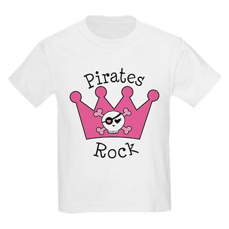 Pirates Rock Gift Kids Light T-Shirt