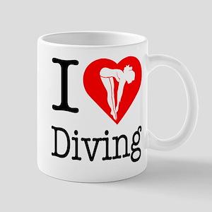 I Love Diving Mug