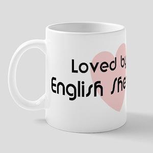 Loved by a English Shepherd Mug