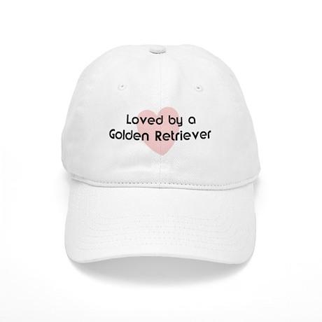 Loved by a Golden Retriever Cap