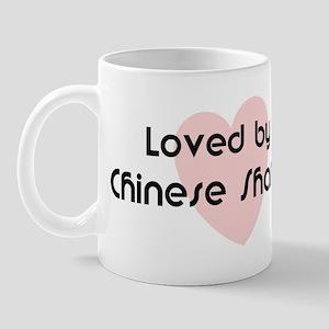 Loved by a Chinese Shar Pei Mug
