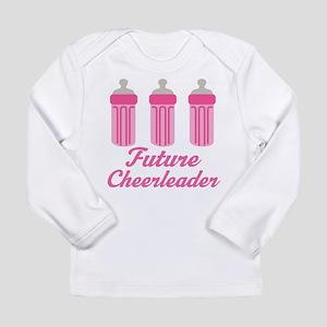 Future Cheerleader Gift Long Sleeve Infant T-Shirt
