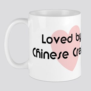 Loved by a Chinese Crested Mug